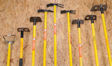 Forged Garden Hoe, Mortar Hoe, Eye Hoe And Weeding Hoe